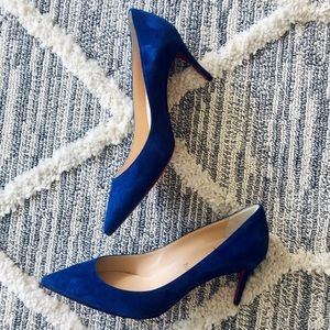 🆕CHRISTIAN LOUBOUTIN PIGALLE FOLLIES SUEDE 37